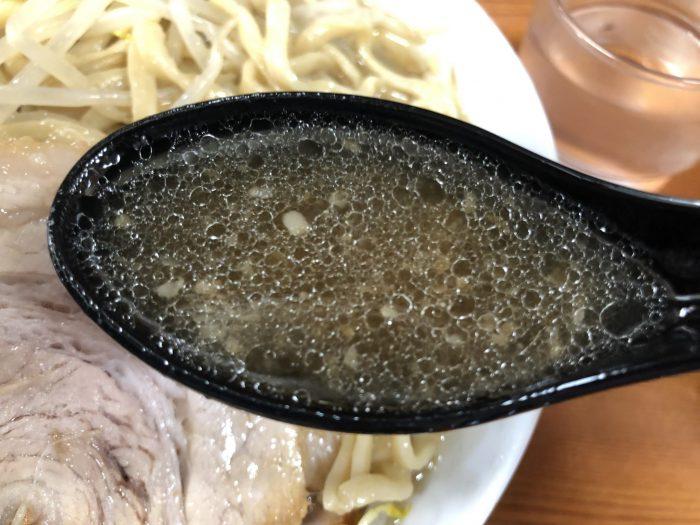 ラーメン二郎 亀戸店 スープ