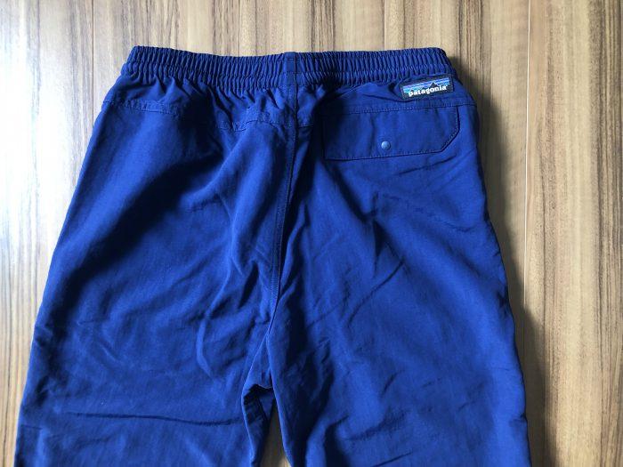 パタゴニア Patagonia バギーズパンツ Baggies Pants バックポケット