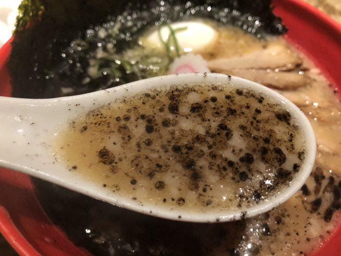 西麻布 五行 とんこつラーメン スープ