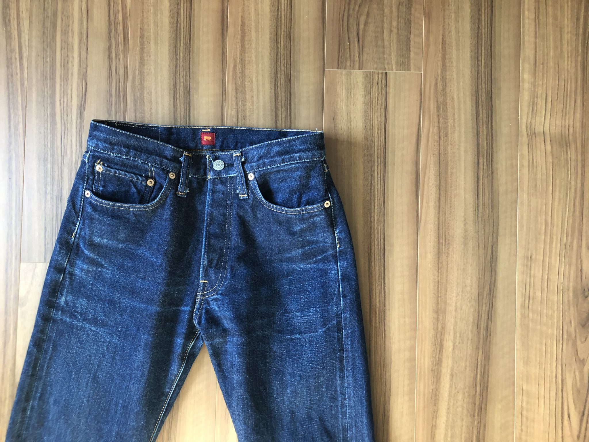 Resolute 710(リゾルト 710)|97日1120時間穿いて10回目の洗濯~購入当時とエイジング(経年変化)を比較します。