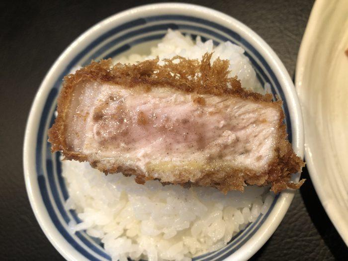 丸山吉平 ロースかつ定食 塩