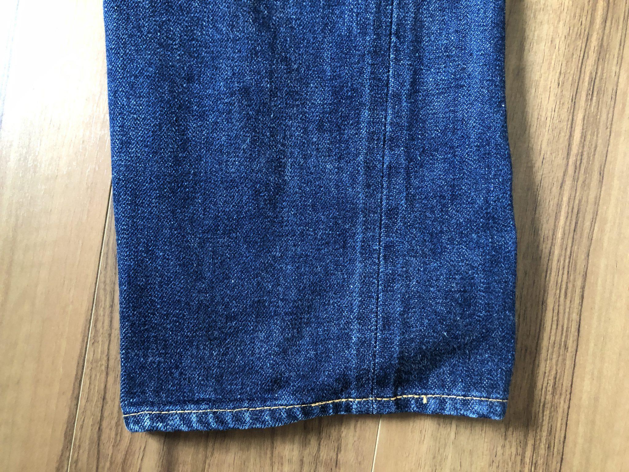 Resolute 710(リゾルト 710)|141日1630時間穿いて14回目の洗濯 エイジング 経年変化 ヒ