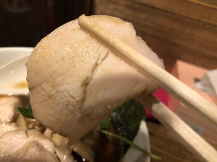 新橋 纏 特製烏賊干し鶏白湯醤油そば 鶏チャーシュー