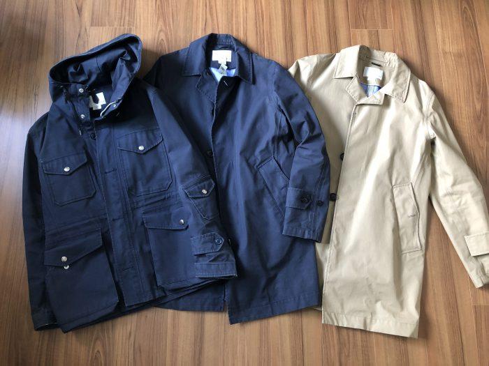 ナナミカ コットンゴアテックス(nanamica GORE-TEX)コートの洗濯方法