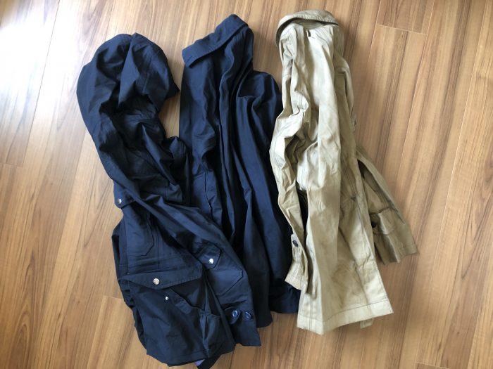 ナナミカ コットンゴアテックス(nanamica GORE-TEX)コートの洗濯方法 洗濯後