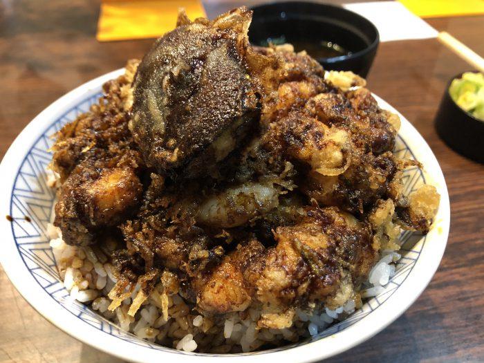 光村 海老かき揚丼
