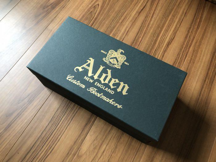 ールデン #986 Alden 外箱 箱 ボックス