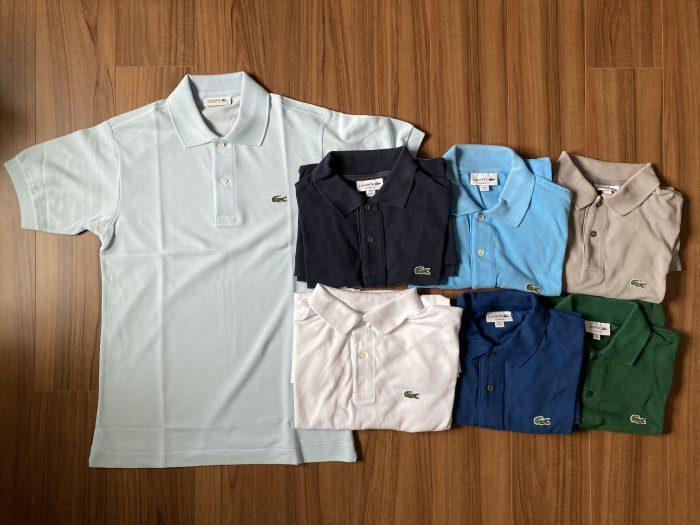 ラコステ ジャパラコ(LACOSTE L1212A)|ワニのポロシャツ7匹目は日本生まれ。フランス規格とのサイズ感の違いは?