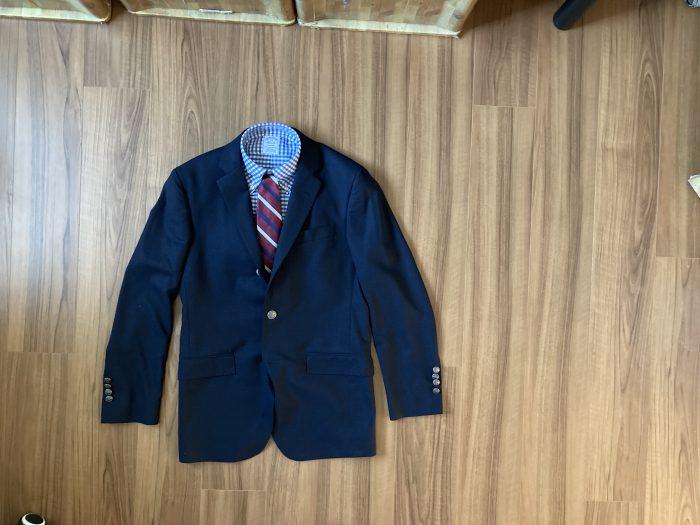 ブルックスブラザーズ(Brooks Brothers)のブレザーとBDシャツとネクタイを揃えました