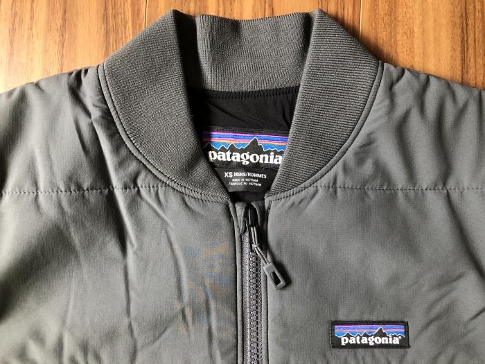 パタゴニア Patagonia ゼメル・ボマージャケット 襟 ジッパー