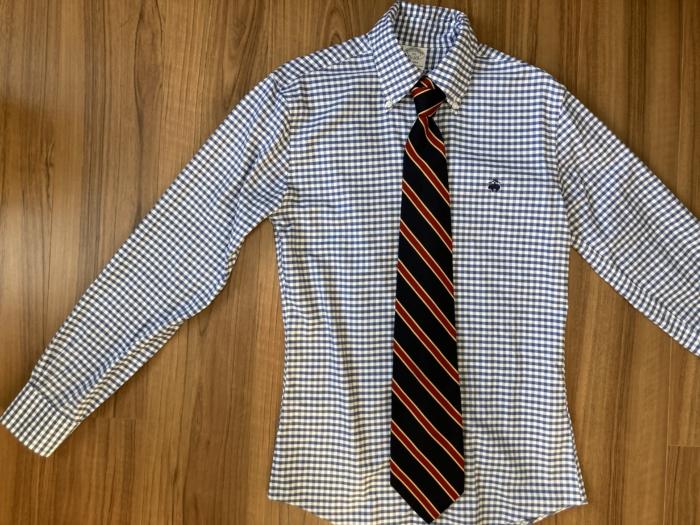 ブルックスブラザーズ Brooks Brothers レップタイ BDシャツ