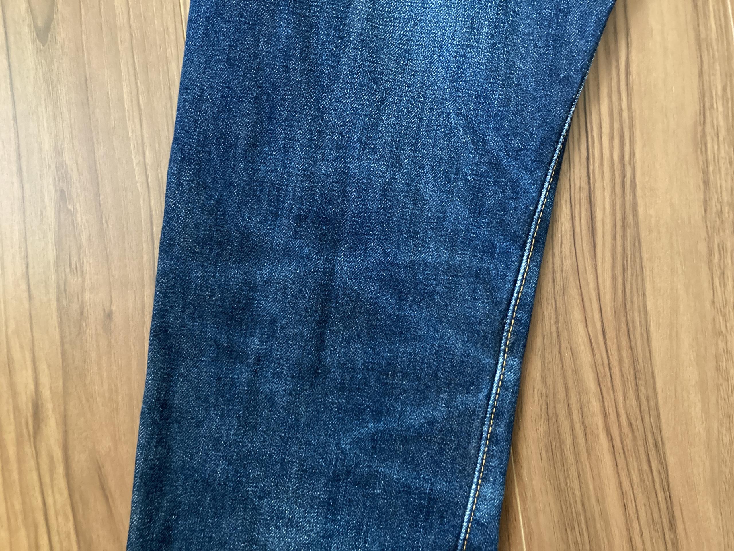 リゾルト 710 Resolute 710 エイジング 経年変化 21回洗濯 ハチノス