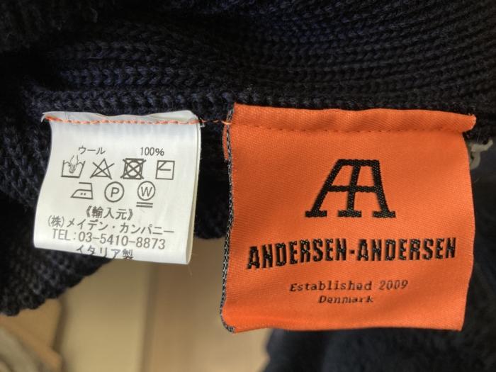 アンデルセンアンデルセン ANDERSEN-ANDERSEN 洗濯表示