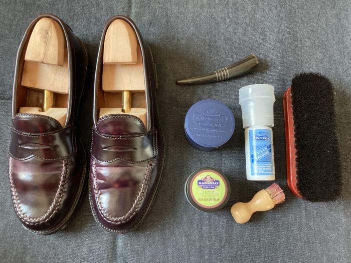 Alden オールデン 986 ローファー エイジング 経年変化 8ヶ月 お手入れ メンテナンス 靴磨き