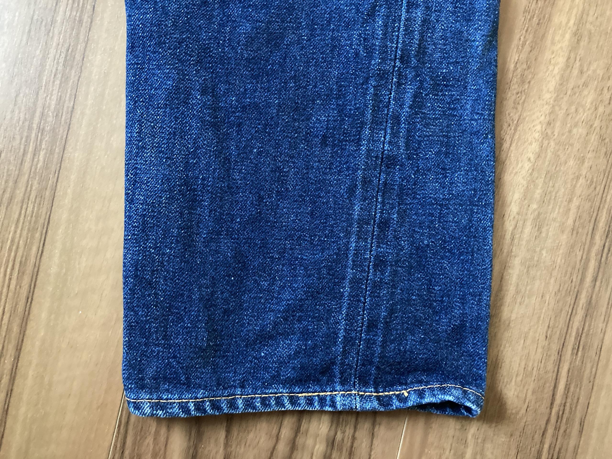 リゾルト 710 Resolute 710 24回目 洗濯 経年変化 エイジング スソ 裾