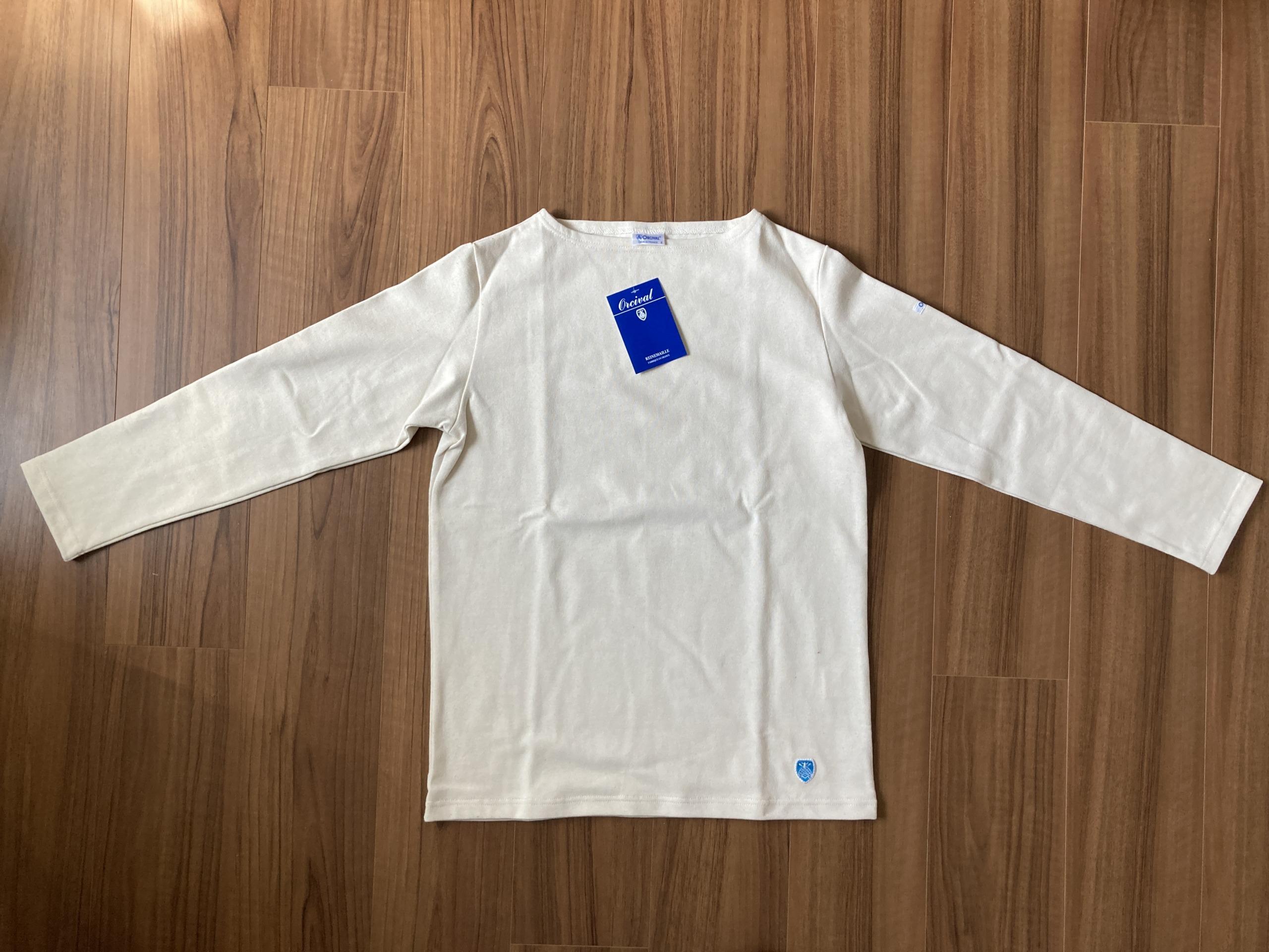 オーシバル Orcival コットンロード バスクシャツ 購入当初 全体観