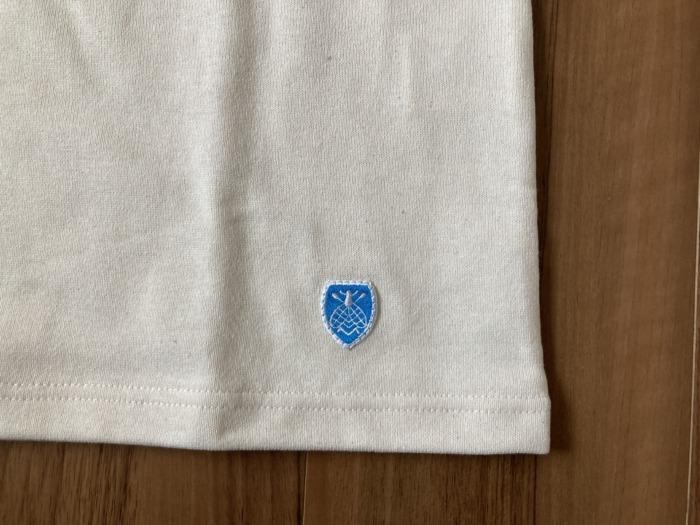 オーシバル Orcival コットンロード バスクシャツ 購入当初 ハチ ワッペン エンブレム