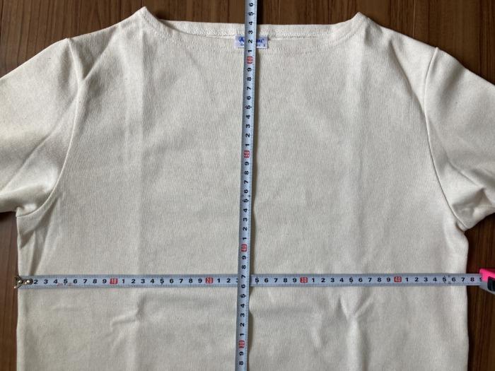 オーシバル Orcival コットンロード バスクシャツ 購入当初