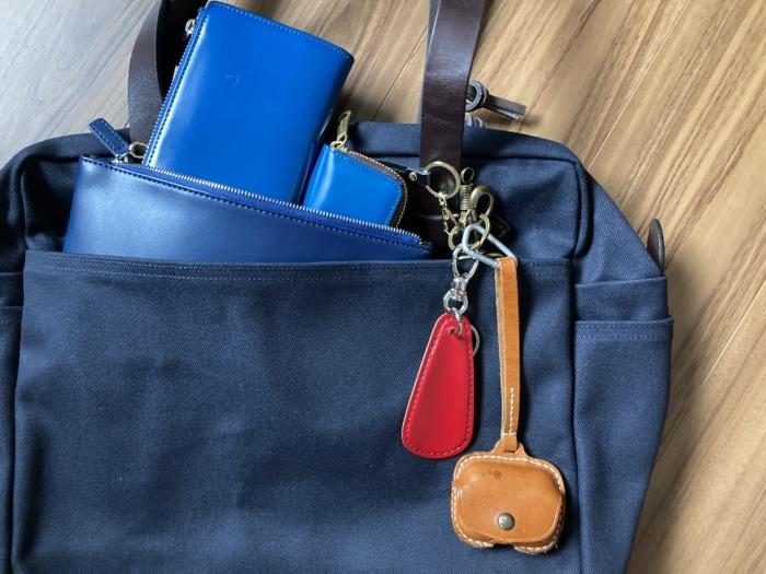 フィルソン Filson ラギッドツィル トートバッグ ウィズ ジッパー 購入当初 キースフック ポケットの使い方