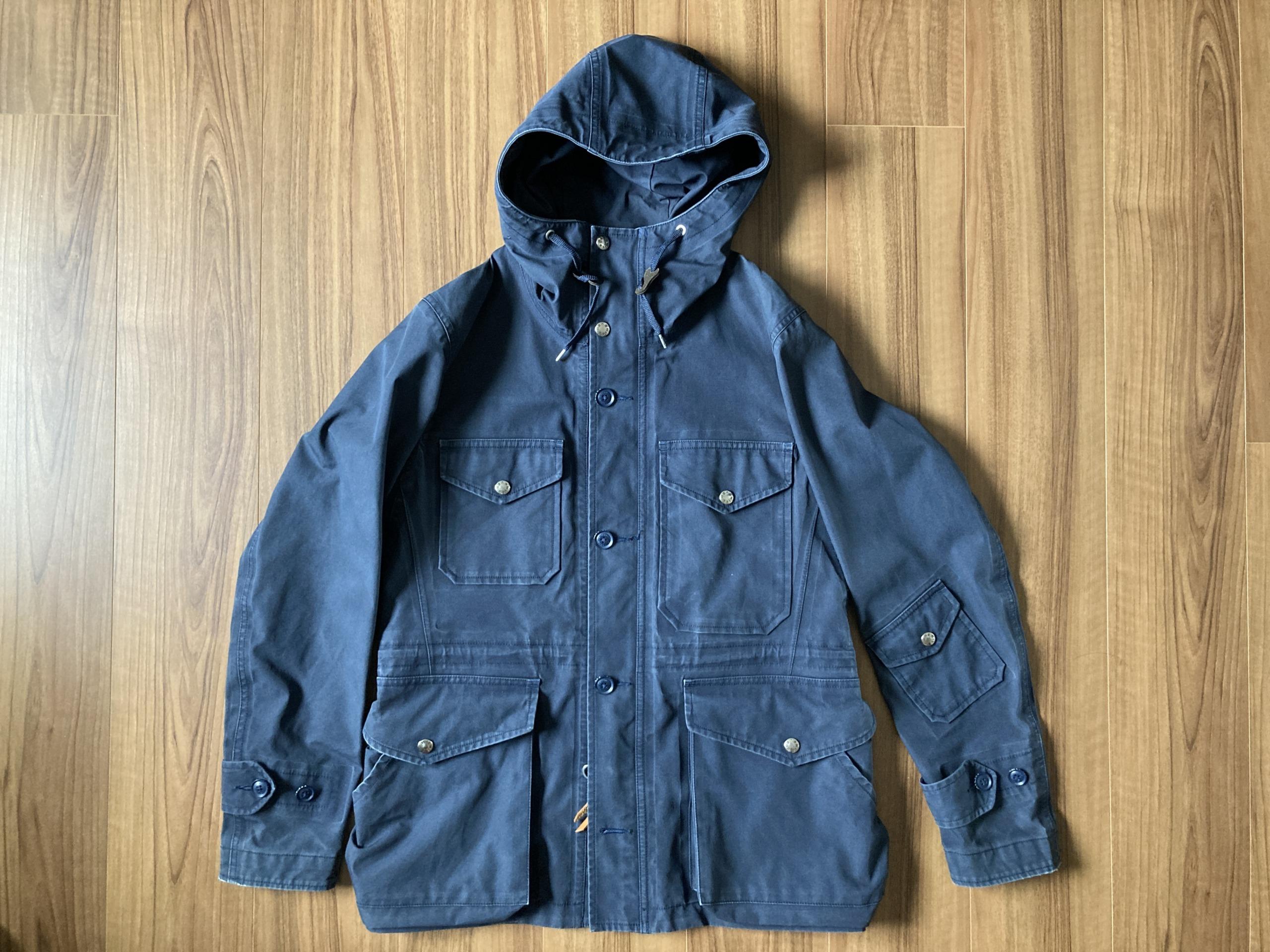 nanamica ナナミカ ゴアテックス コート エイジング 経年変化 クルーザージャケット 3年