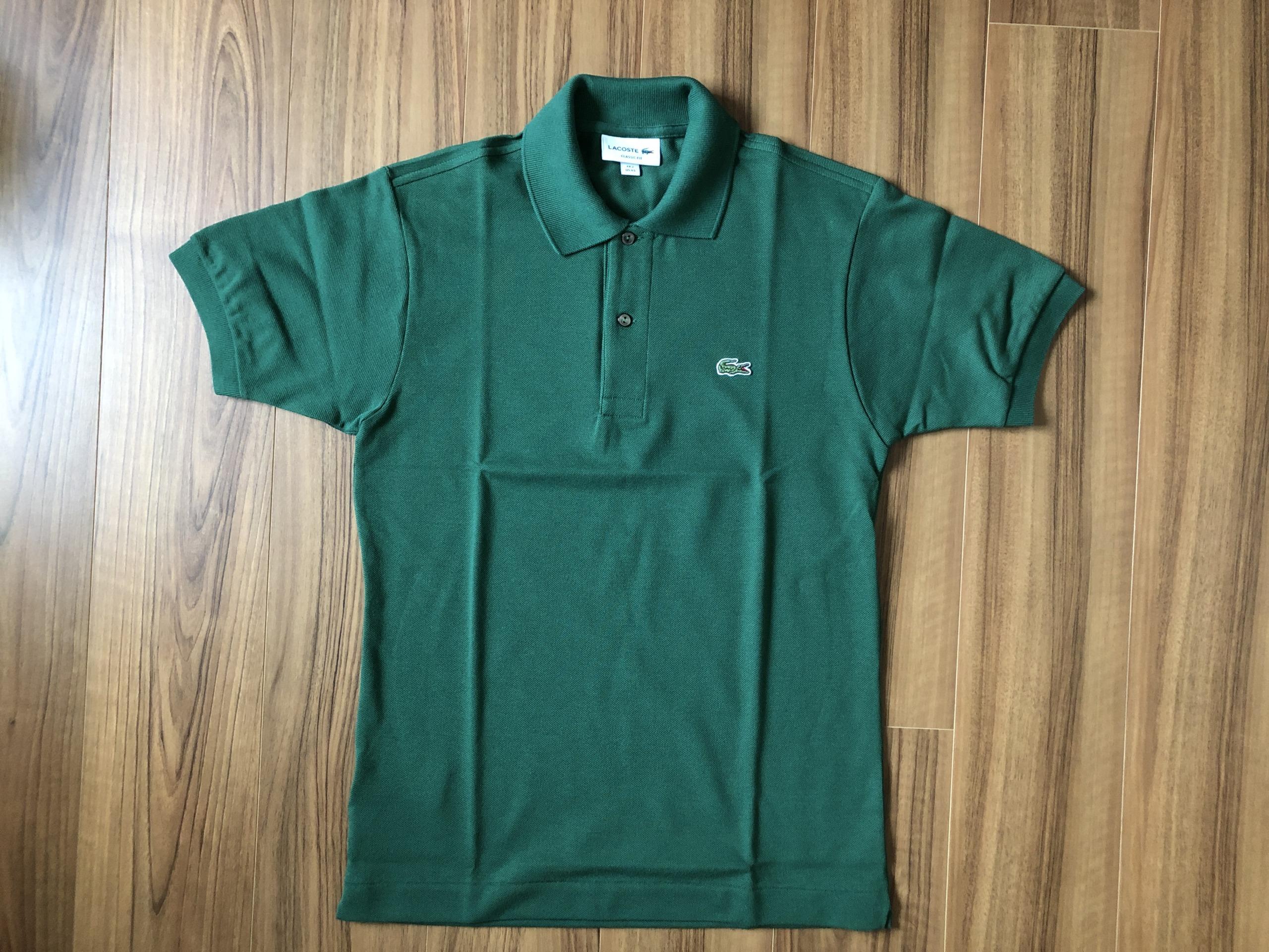 ラコステ フララコ(LACOSTE L1212)ポロシャツ ヴェール グリーン 全体観