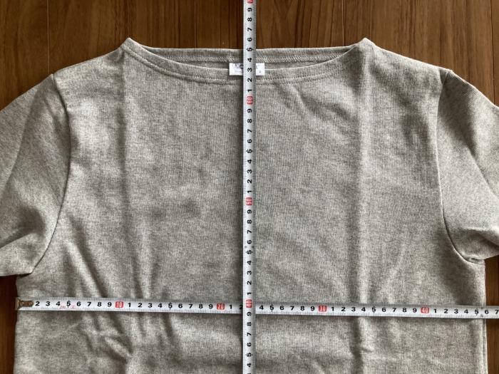 オーシバル Orcival コットンロード バスクシャツ グレー SAKTEDGREY 購入当初 サイズ感