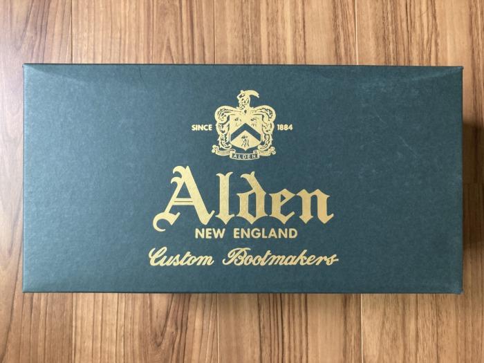 オールデン 9901 Alden 購入当初 外箱