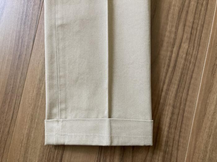 バーンストーマー ドレスチノ Barnstormer 1001P 購入当初 裾 ダブル