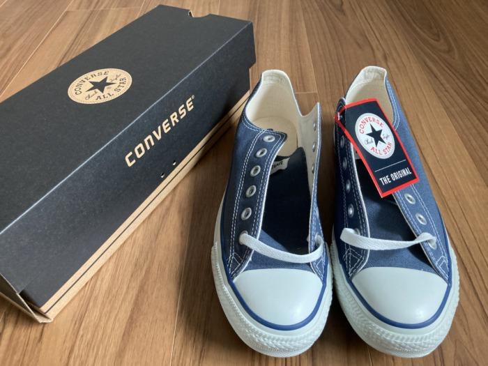 コンバース オールスター Converse Allstar 経年変化 購入当初 外箱